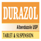DURAZOL Albendazole USP Tablet- 400 mg.Suspension- 200mg /5 m.l