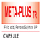 META-PLUS TR Capsule Timed Release Formulation Ferrous Sulphate BP 150 mg. Folic acid BP 500 microgram